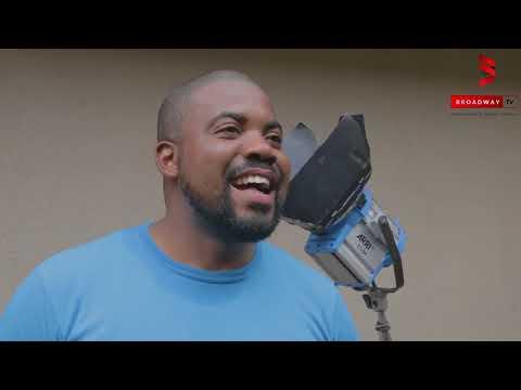 Bisola Aiyeola, Okey Uzoeshi and more on set of GLIMPSE by Bidoun Stephen