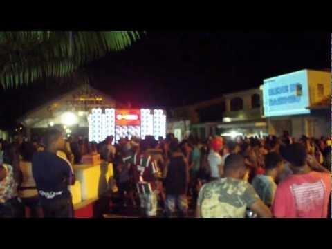 Paredão Tsunami Rosa Fazendo a Festa em Indiaroba