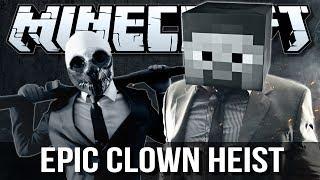 EPIC CLOWN DIAMOND HEIST (PayDay)   Minecraft