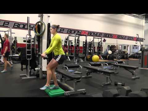 Team USA Women's Hockey workout at MBSC
