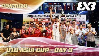 See all the action from the FIBA 3x3 U18 Asia Cup LIVE! All scores and schedules on the official website, FIBA.com/3x3U18Asia...