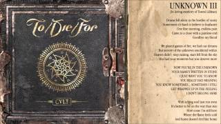 To/Die/For - Unknown III (2015)
