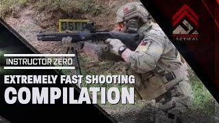 Niesamowity pokaz umiejętności w szybkim strzelaniu!
