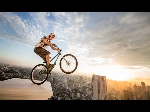 Trials Biking, Freestyle Football & BMX Flatland - Red Bull Launch 2013 Thailand