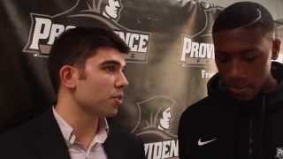 Craig Belhumeur with Kris Dunn – PC Media Day 2014