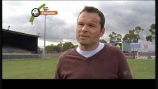 Mark Viduka im Interview mit Les Murray