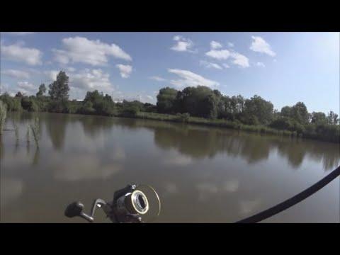Lov štik-záběr na rotačku