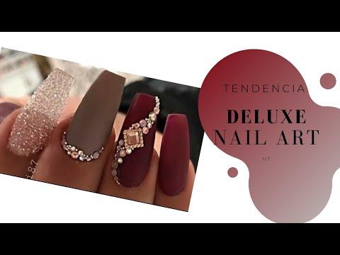 Deluxe Nail Art / Diseños de uñas elegantes para fiesta de gala, otoño invierno 2019.