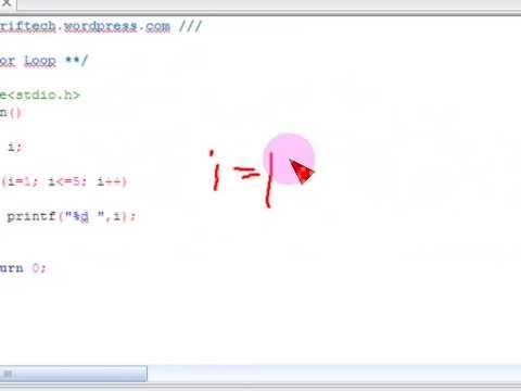 Bangla C programming tutorial  29  For Loop