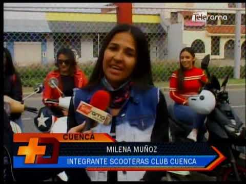 """Scooteras Club Cuenca organiza """"Rueda con Nosotras"""""""