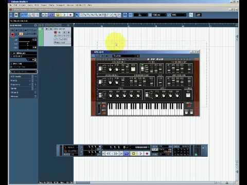 Introduction to Cubase: Getting Started with VST Instruments, part 1