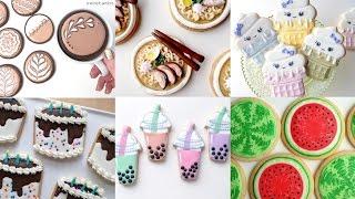 CUTE COOKIE FOOD! My Favorite Cookie Decorating Videos - Compilation by SweetAmbs