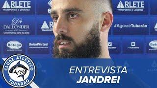 [ENTREVISTA] Goleiro Jandrei e técnico Marcelo Mabilia   TV Tubarão