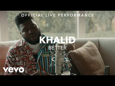 Better <br>Live Version<br><font color='#ED1C24'>KHALID</font>