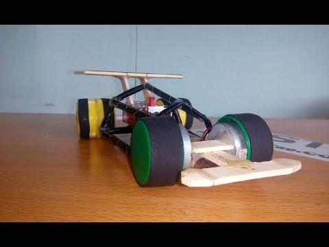 How To Make F1 RC MINI, DIY Formula 1 Remote control, F1 Racing Car