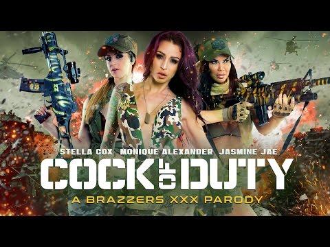 Brazzers Presents Cock Of Duty XXX Parody TEASER TRAILER 2016