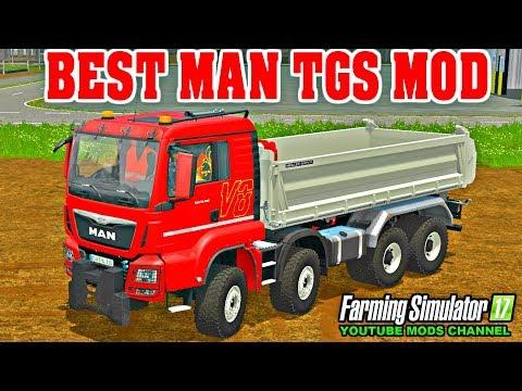 MAN TGS 35.440 E6 8x4 Meiller Kipper v1.0