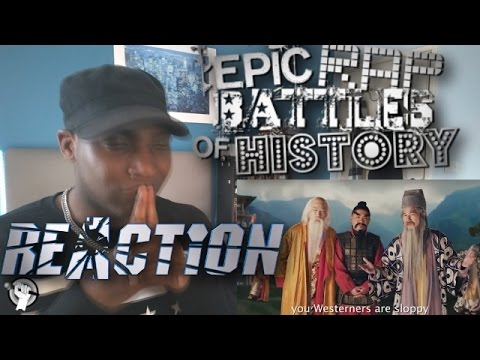 Eastern Philosophers vs Western Philosophers. Epic Rap Battles of History Season 4 REACTION!!!