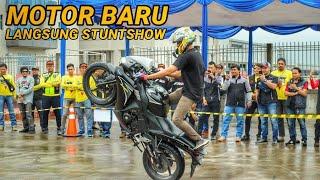 Video MOTOR BARU LANGSUNG BUAT STUNTSHOW MP3, 3GP, MP4, WEBM, AVI, FLV April 2019