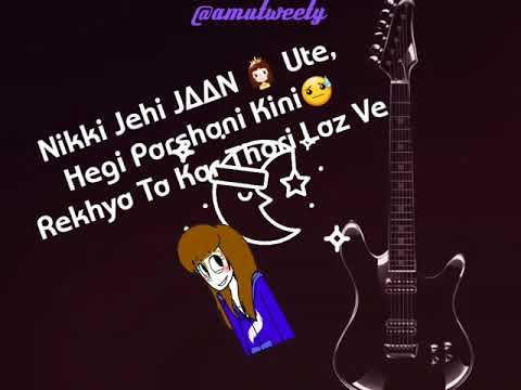 Video WhatsApp Status Iko Var Jaan Kad Le Jassi Gill Punjabi Song download in MP3, 3GP, MP4, WEBM, AVI, FLV January 2017