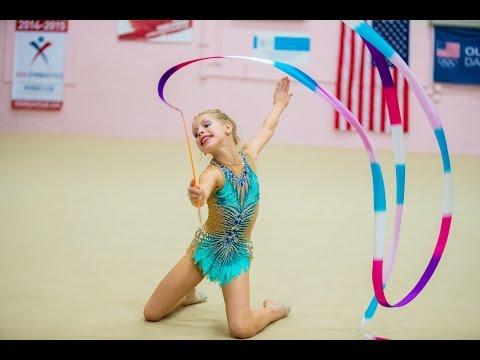 Chicago Cup 2017 Rhythmic Gymnastics - Level 6, Ribbon (видео)
