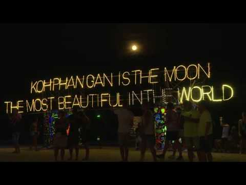 Beats, booze and bodypaint: full moon party defies Thai troubles
