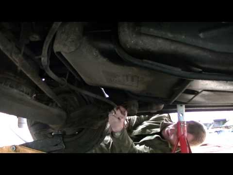 How To – Fiat Scudo -Rear subframe Mounting repair – bolts.