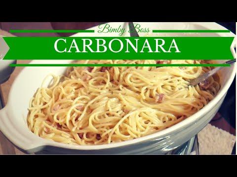 bimby – spaghetti alla carbonara