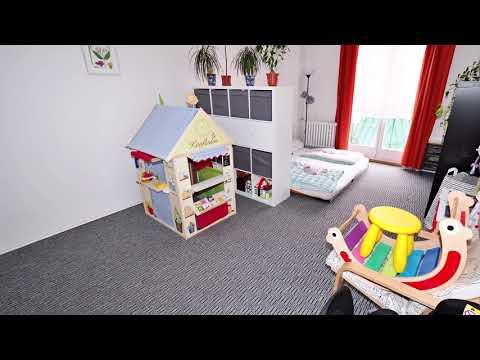 Video Cihlový byt 3+kk/B, 70 m2, 2.p, po rekonstrukci, Praha 4 - Nusle