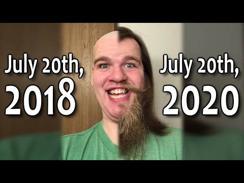 2 Years of Hair Growth (a Time Lapse)