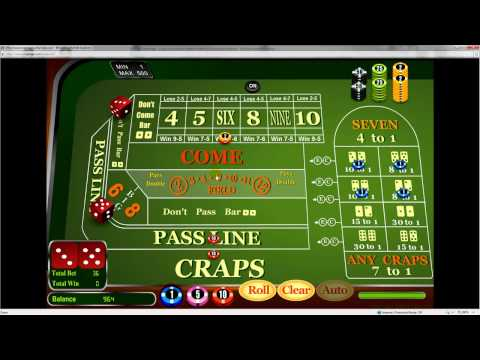 How to Play and Win at Craps in the Casino