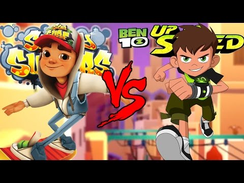Video Subway Surfers  VS Ben 10: Up to Speed EPIC BATTLE! download in MP3, 3GP, MP4, WEBM, AVI, FLV January 2017