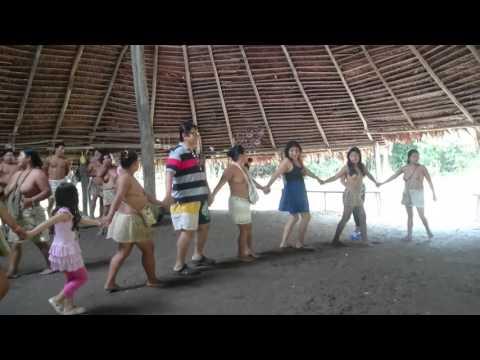 Los Boras tribu nativa del Peru