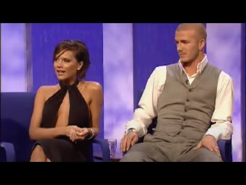 David and Victoria Beckham interview - part one - Parkinson - BBC