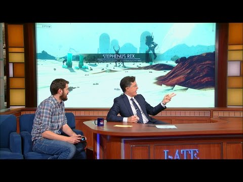 Новый геймплей No Man's Sky показали на шоу Стивена Кольбера