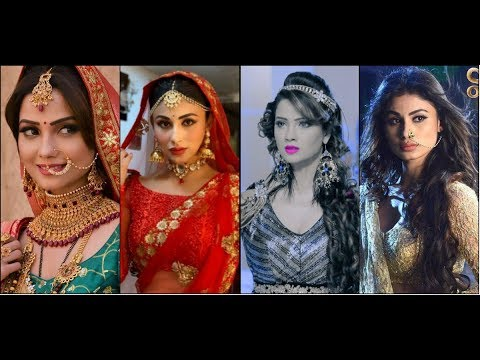 Mouni Roy Vs Adaa Khan In Different Attires | Shivanya Vs Shesha | Naagin | Who's The Best