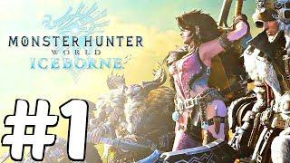 Monster Hunter World Iceborne - Gameplay Walkthrough Part 1 - Full Beta (DLC Expansion)
