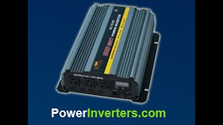 This video introducing you to DC to AC Power Inverters the different types and applications. Using direct current to power alternating current devices. For more information stay tuned for more videos, share and like this video to spread this information about off grid power solutions. http://www.powerinverters.com/