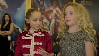 The Greatest Showman Interview Johnson  Seely 1