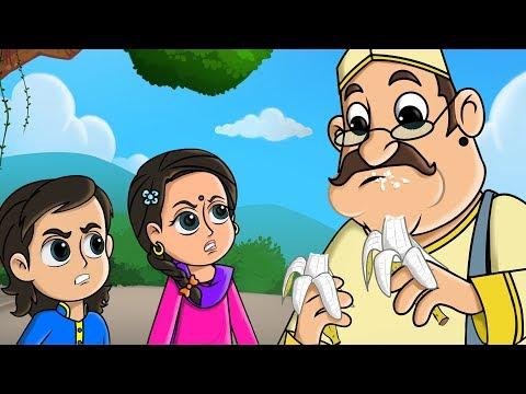 लाला जी ने केला खाया - Lalaji Ne Kela Khaya Song - FunForKidsTV - Hindi Rhymes