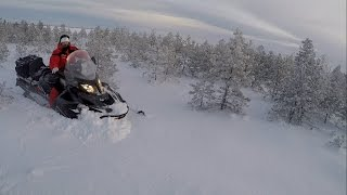 2. Открытие �езона 2017(ski-doo skandic wt 900 ACE,Armi 600 e-tec)