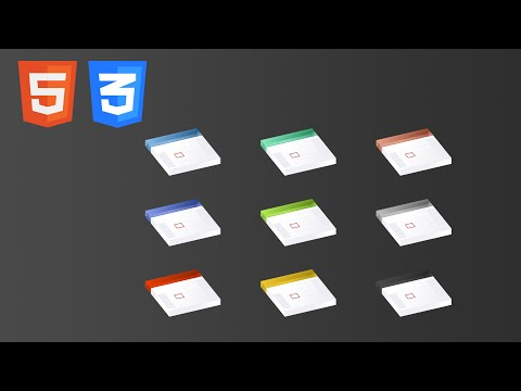 Learn HTML and CSS3 by building a responsive tableless calendar