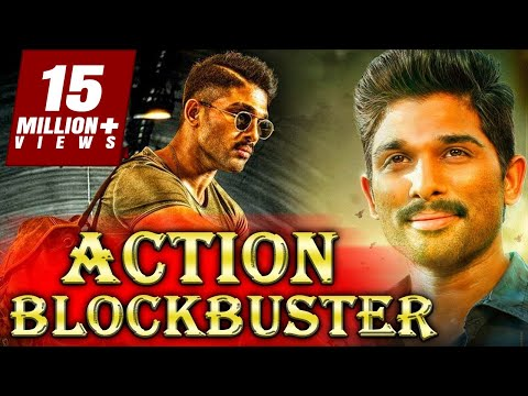 Action Blockbuster (2018) South Indian Movies Dubbed In Hindi Full Movie | Allu Arjun, Arya