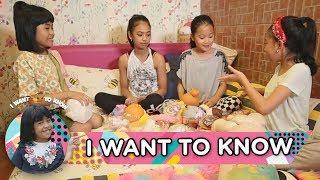 Seru Banget Yaa, Zara Leola & Alifa Mainan Squishy - I Want to Know (25/2)