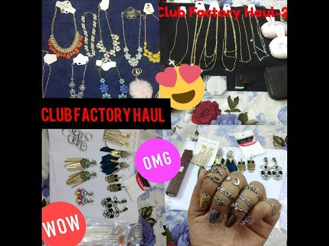 Club factory Online jewellery shopping haul🙃