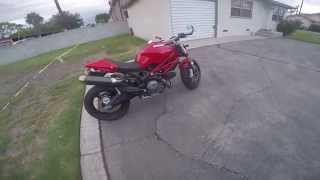 4. 2012 Ducati Monster 696 ABS Walk Around & Review