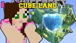 Minecraft: CUBE LAND (BIOMES IN CUBES!) Mod Showcase