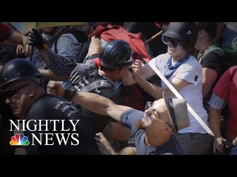 Charlottesville Under State Of Emergency As Anniv. Of Deadly Violence Approaches | NBC Nightly News