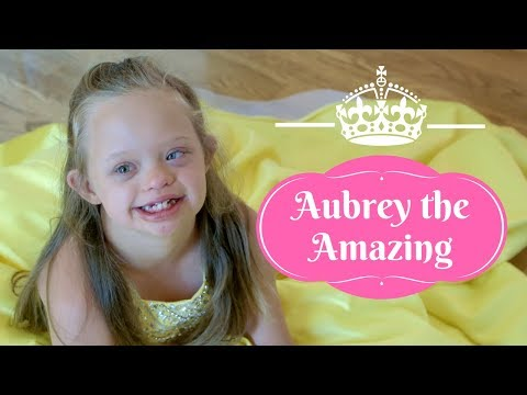 Watch video Beauty Queen with Down Syndrome: Aubrey the Amazing