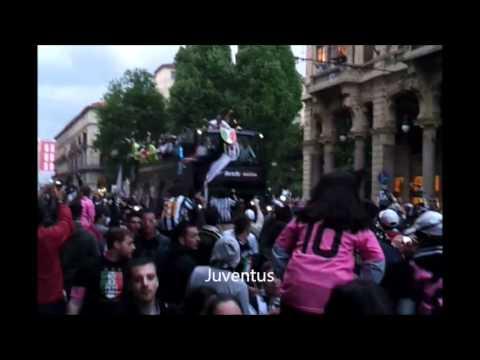 La Grande Festa della Juventus a Torino
